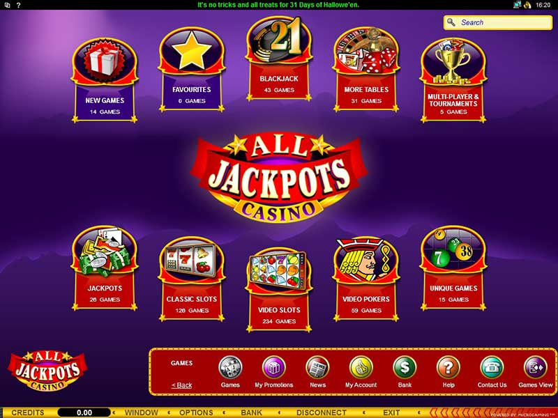 All Jackpots Promotions
