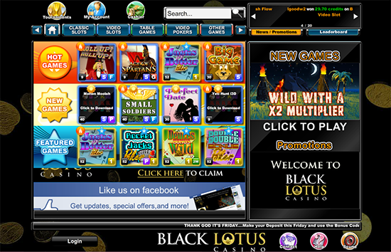 Black Lotus Casino Promotions
