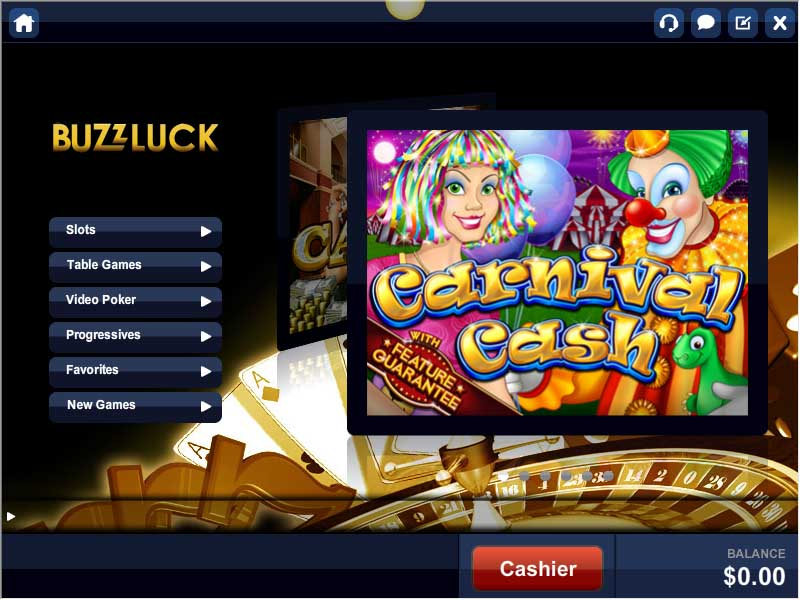 Buzzluck Casino Promotions