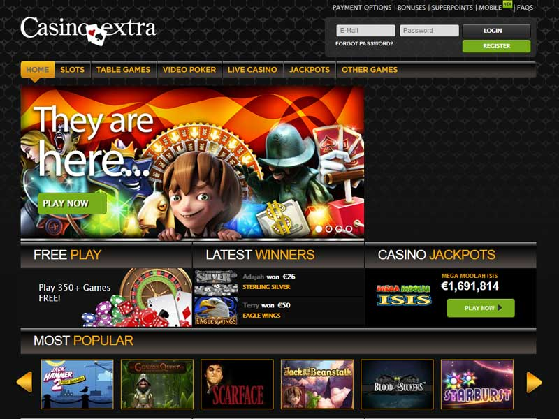 Home Page Screenshot