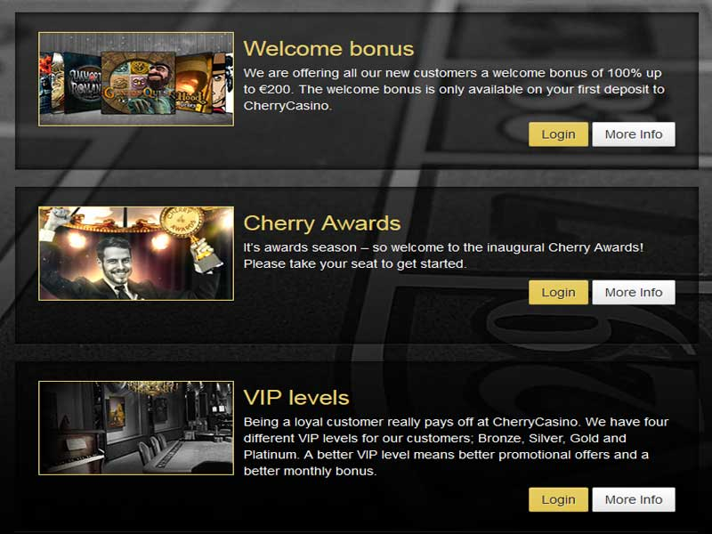 Cherry Casino Promotions
