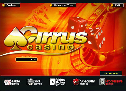 Cirrus Casino Promotions