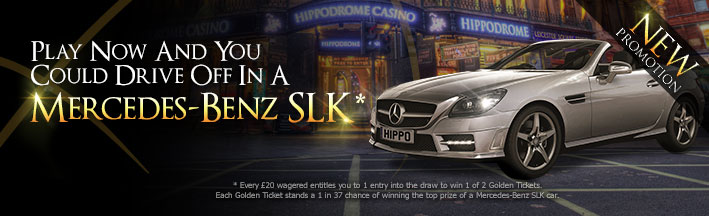 Mercedes promotions at Hippodrome casino