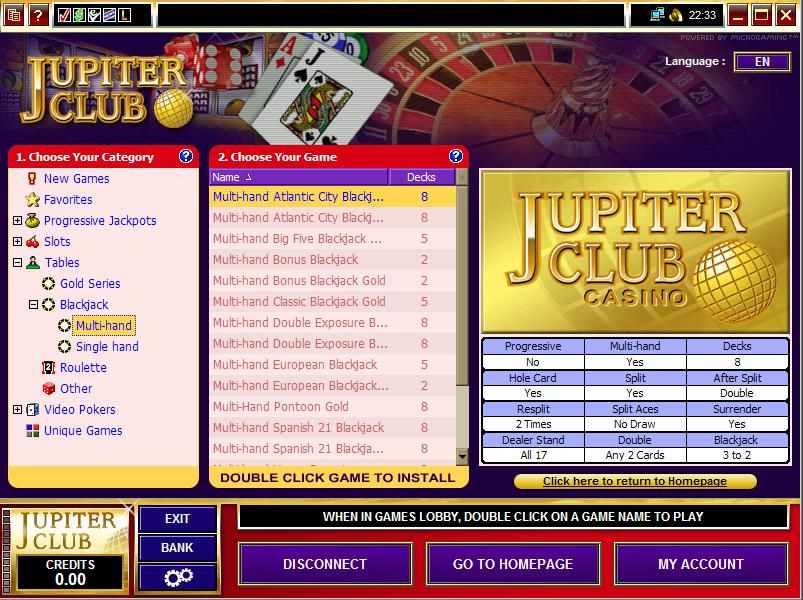 Jupiter Club Casino Promotions