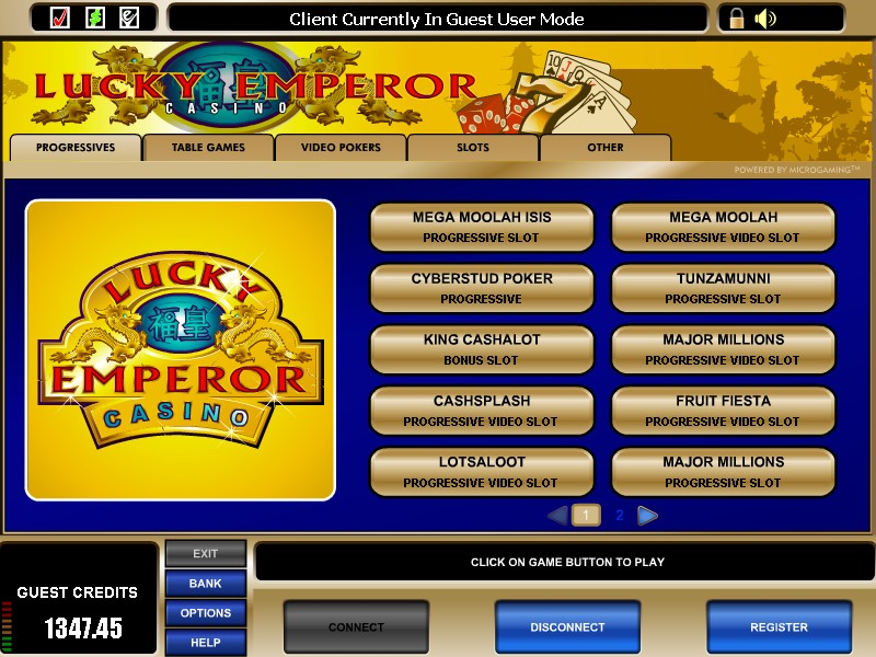 Lucky Emperor Casino Promotions