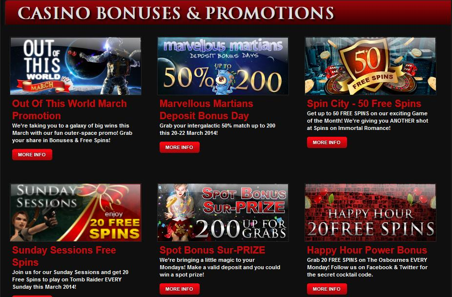 Royal Vegas Casino Promotions