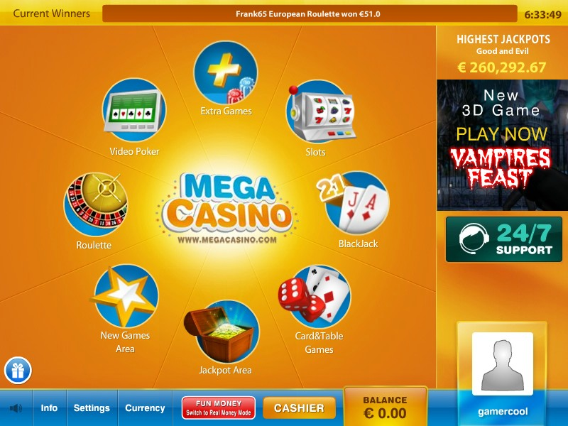 Mega Casino Promotions