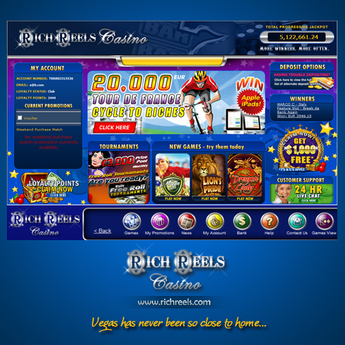 Rich Reels Casino Promotions