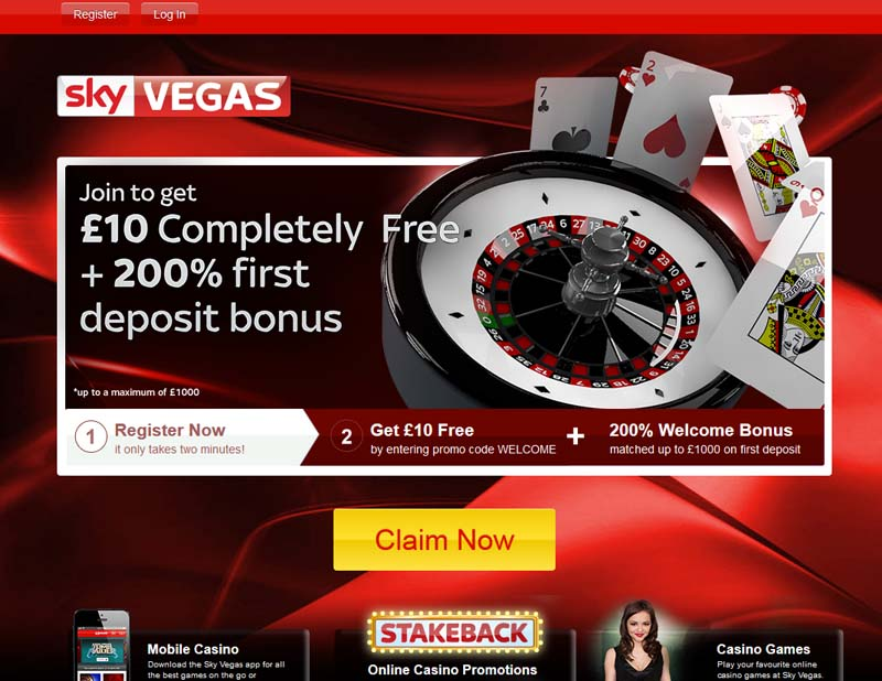Sky Vegas Casino Promotions