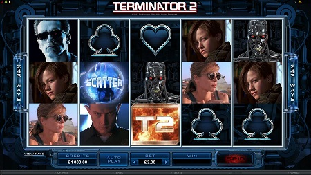 100K Slot Tournament - Terminator 2