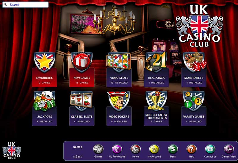 UK Casino Club Promotions