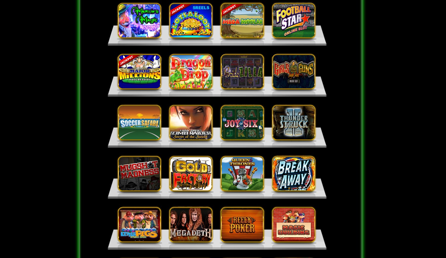 casino games with sign up bonus