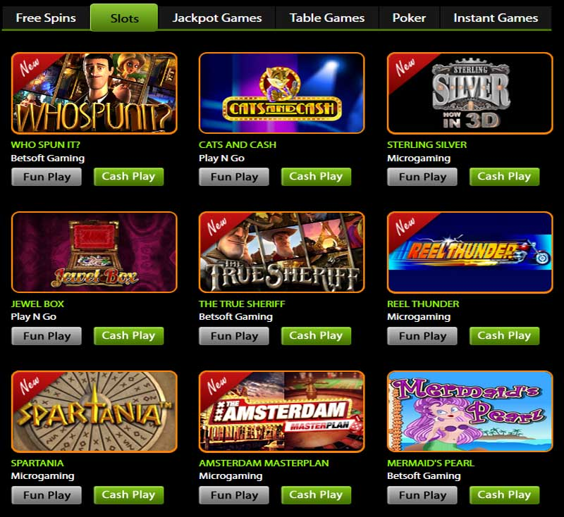 Slot machines with free spins