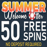 CyberSpins - Summer Offer: 50 Free Spins on Lava Gold