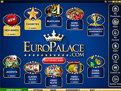 Euro Palace Casino Promotions