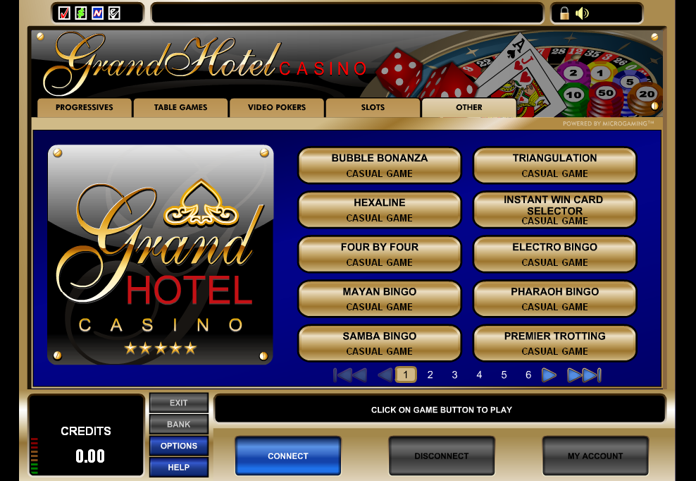 Grand Hotel Casino Promotions