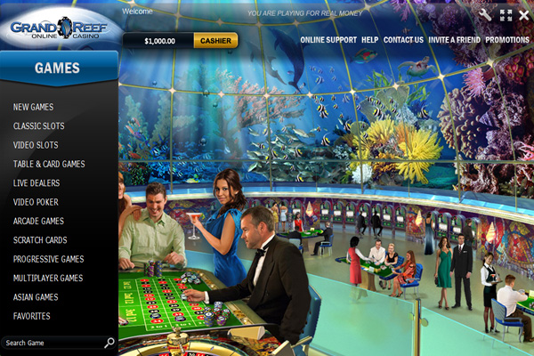 Grand Reef Casino Promotions