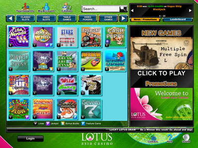 Lotus Asia Casino Promotions