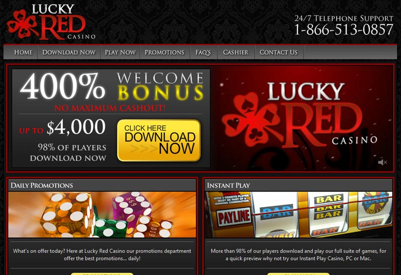 Lucky Red Casino Iphone