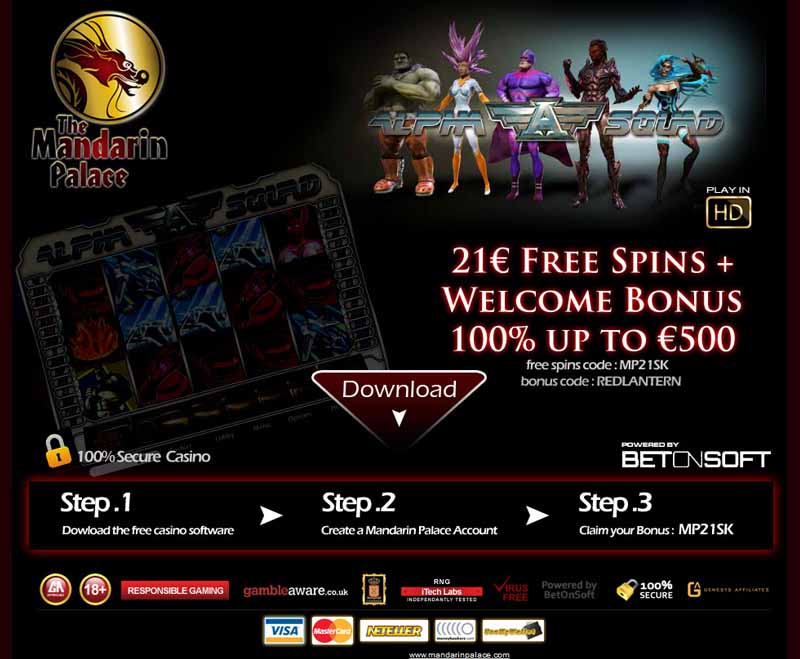 Mandarin Palace Casino Promotions