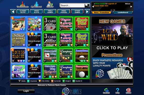Platinum Reels Casino Promotions