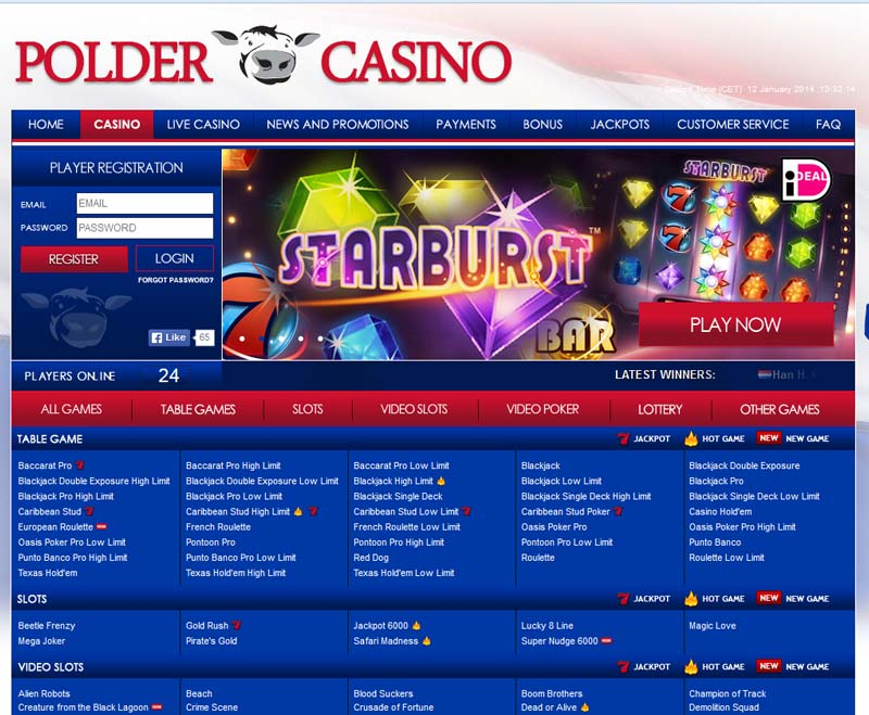 Polder Casino Promotions