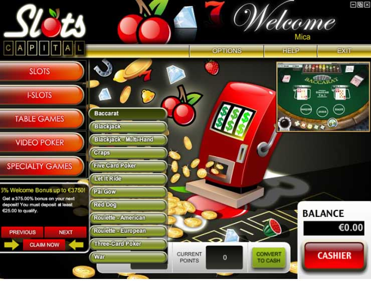 Slots Capital Casino Promotions