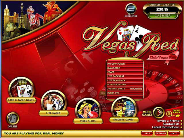Vegas Red Casino Promotions