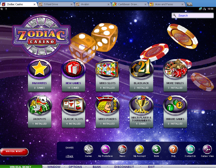 Zodiac Casino Promotions